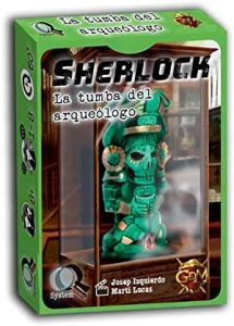 Juegos de mesa de Sherlock Holmes de investigación de la Tumba del arqueólogo