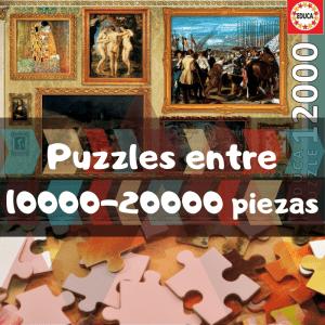 Los mejores puzzles de 10000 piezas - Puzzles grandes de 10000 a 20000 piezas de Educa, Ravensburger, Clementoni