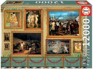 Los mejores puzzles de 10000 piezas o más - Puzzle de Grandes Obras de Arte de 12000 piezas de Educa