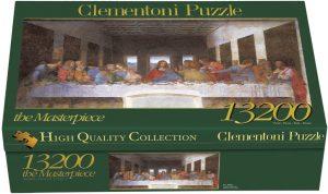 Los mejores puzzles de 10000 piezas o más - Puzzle de La Última Cena de 13200 piezas de Clementoni
