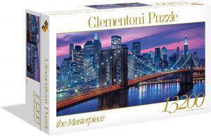 Los mejores puzzles de 10000 piezas o más - Puzzle de Puente de Nueva York de 13200 piezas de Clementoni