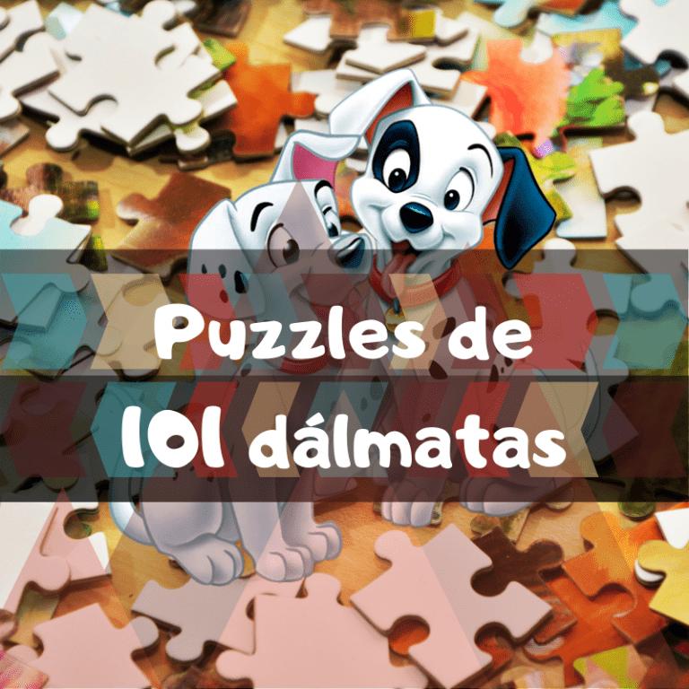 Los mejores puzzles de 101 dálmatas
