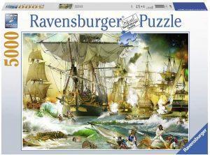 Los mejores puzzles de 5000 piezas - Puzzle de Batalla en alta mar de 5000 piezas de Ravensburger