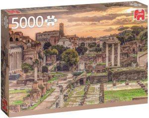 Los mejores puzzles de 5000 piezas - Puzzle de Foro Romano de 5000 piezas de Jumbo