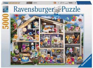 Los mejores puzzles de 5000 piezas - Puzzle de Gelini de 5000 piezas de Ravensburger