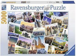 Los mejores puzzles de 5000 piezas - Puzzle de Nueva York la ciudad que nunca duerme de 5000 piezas de Ravensburger