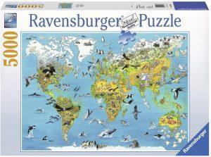 Los mejores puzzles de 5000 piezas - Puzzle de Tierra Fascinante de 5000 piezas de Ravensburger