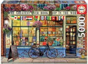 Los mejores puzzles de 5000 piezas - Puzzle de la mejor librería del mundo de 5000 piezas de Educa