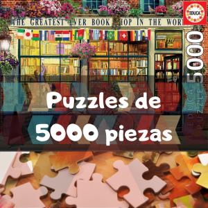 Los mejores puzzles de 5000 piezas - Puzzles grandes de 5000 piezas de Educa, Ravensburger, Clementoni