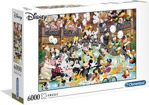 Los mejores puzzles de 6000 piezas - Puzzle de Disney de 6000 piezas de Clementoni