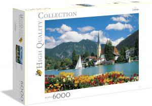 Los mejores puzzles de 6000 piezas - Puzzle de Lago Tegernsee de 6000 piezas de Clementoni