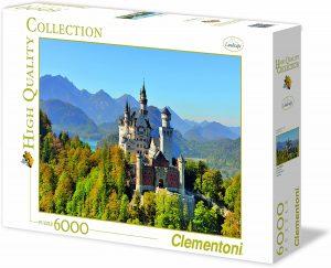 Los mejores puzzles de 6000 piezas - Puzzle de Neuschwanstein de 6000 piezas de Clementoni