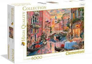 Los mejores puzzles de 6000 piezas - Puzzle de Venecia de 6000 piezas de Clementoni
