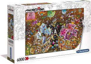 Los mejores puzzles de 6000 piezas - Puzzle de barco de 6000 piezas de Clementoni
