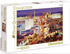 Los mejores puzzles de 6000 piezas - Puzzle de las Vegas de 6000 piezas de Clementoni