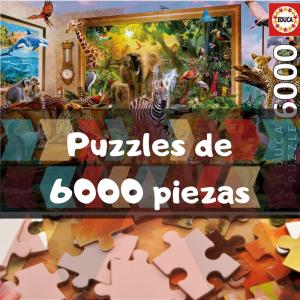 Los mejores puzzles de 6000 piezas - Puzzles grandes de 6000 piezas de Educa, Ravensburger, Clementoni