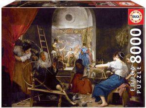 Los mejores puzzles de 8000 piezas - Puzzle de Las Hilanderas Velázquez de 8000 piezas de Educa