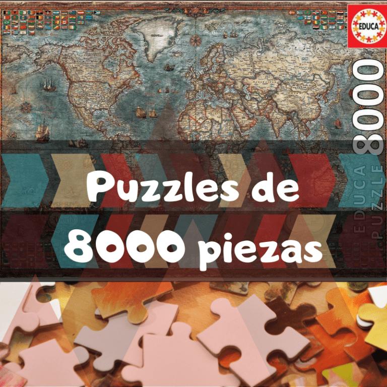 Los mejores puzzles de 8000 piezas