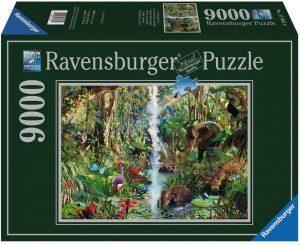 Los mejores puzzles de 9000 piezas - Puzzle de Animales de la Selva de 9000 piezas de Ravensburger