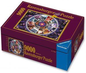 Los mejores puzzles de 9000 piezas - Puzzle de El Zodiaco de 9000 piezas de Ravensburger