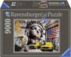Los mejores puzzles de 9000 piezas - Puzzle de Impresiones de New York de 9000 piezas de Ravensburger