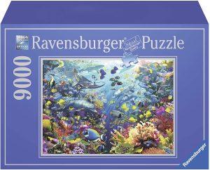 Los mejores puzzles de 9000 piezas - Puzzle de Paraíso en el Fondo del mar de 9000 piezas de Ravensburger