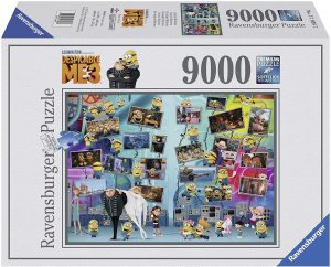 Los mejores puzzles de 9000 piezas - Puzzle de los Minions de 9000 piezas de Ravensburger