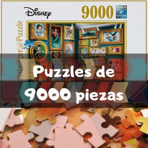Los mejores puzzles de 9000 piezas - Puzzles grandes de 9000 piezas de Educa, Ravensburger, Clementoni
