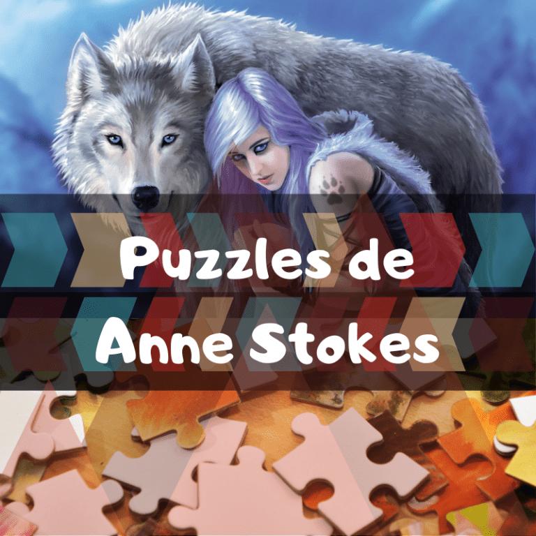 Los mejores puzzles de Anne Stokes