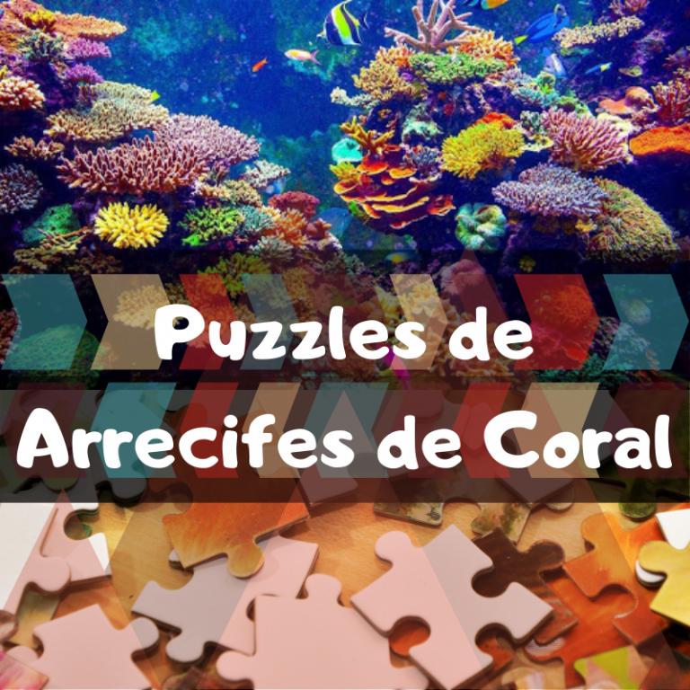 Los mejores puzzles de Arrecifes de Coral
