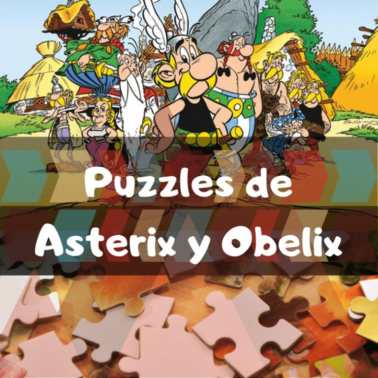 Los mejores puzzles de Astérix y Obélix