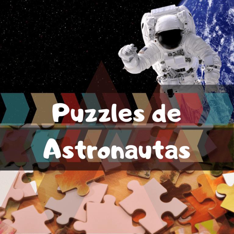 Los mejores puzzles de Astronautas