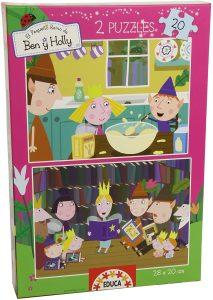 Los mejores puzzles de Ben y Holly - Ben & Holly - Puzzle de Ben y Holly de 2x20 de Educa