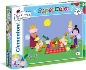 Los mejores puzzles de Ben y Holly - Ben & Holly - Puzzle de personajes de Ben y Holly de 2x20 piezas de Clementoni