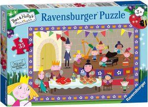 Los mejores puzzles de Ben y Holly - Ben & Holly - Puzzle de personajes de Ben y Holly de 35 piezas de Ravensburger