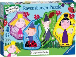 Los mejores puzzles de Ben y Holly - Ben & Holly - Puzzle de protagonistas de Ben y Holly de Ravensburger