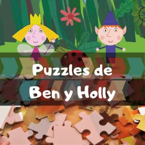Los mejores puzzles de Ben y Holly - Puzzles de Ben y Holly - Comprar Puzzle de Ben & Holly