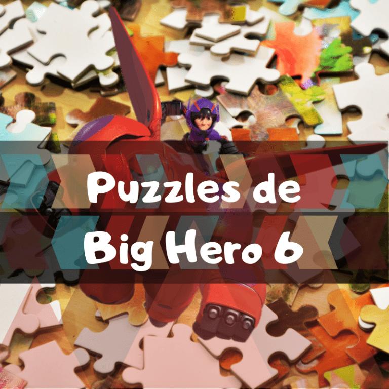Los mejores puzzles de Big Hero 6