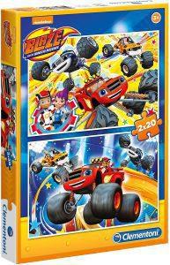 Los mejores puzzles de Blaze y los Monster Machines - Puzzle de Blaze y los Monster Machines de 2x20 piezas