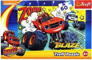 Los mejores puzzles de Blaze y los Monster Machines - Puzzle de Blaze y los Monster Machines de 60 piezas de Trefl