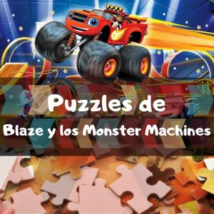 Los mejores puzzles de Blaze y los Monster Machines - Puzzles de Blaze y los Monster Machines - Comprar Puzzle de Blaze y los Monster Machines