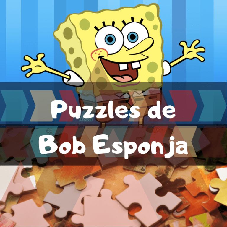 Los mejores puzzles de Bob Esponja