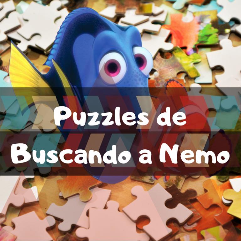 Los mejores puzzles de Buscando a Nemo