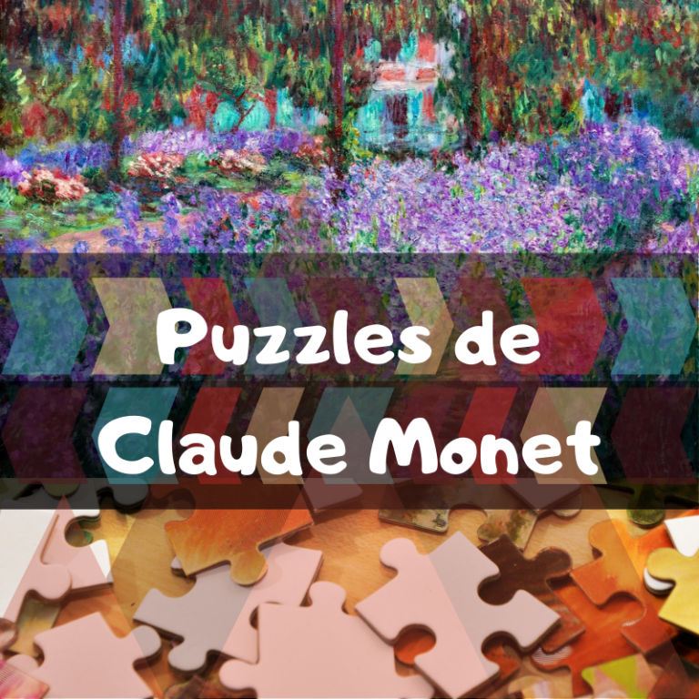 Los mejores puzzles de Claude Monet