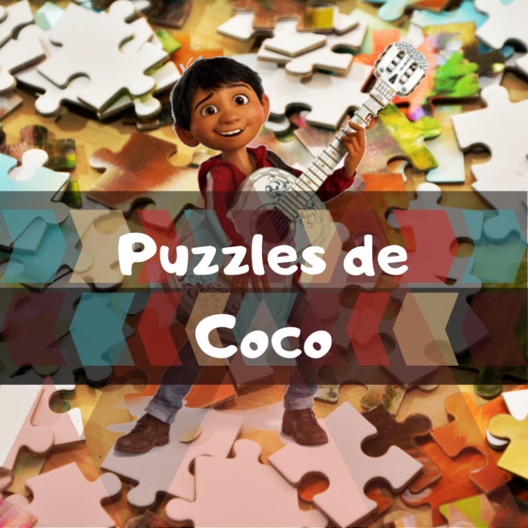 Los mejores puzzles de Coco