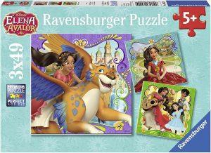 Los mejores puzzles de Elena de Ávalor - Puzzle de Elena de Ávalor de 3x49 piezas de Ravensburger