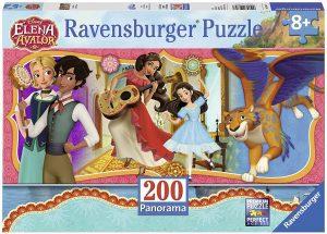 Los mejores puzzles de Elena de Ávalor - Puzzle de Panorama de Elena de Ávalor de 200 piezas de Ravensburger