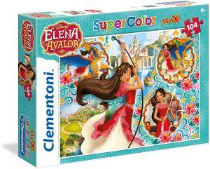 Los mejores puzzles de Elena de Ávalor - Puzzle de imágenes de Elena de Ávalor de 104 piezas de Clementoni 2