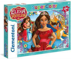 Los mejores puzzles de Elena de Ávalor - Puzzle de imágenes de Elena de Ávalor de 104 piezas de Clementoni