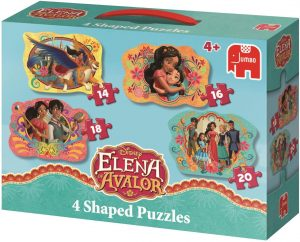 Los mejores puzzles de Elena de Ávalor - Puzzle progresivo de Elena de Ávalor de Jumbo